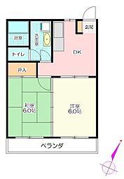 新成マンション[3階]の間取り
