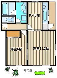 稲葉邸[1階]の間取り