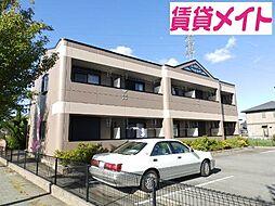 三重県松阪市嬉野中川新町2の賃貸アパートの外観