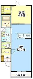 ラパーチェ529[1階]の間取り