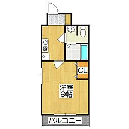 おおきに出町柳サニーアパートメント(旧 S-CREA出町柳)[104号室]の間取り