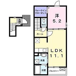 みらいーII[2階]の間取り