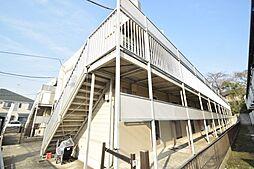 千葉県市川市中山3丁目の賃貸アパートの外観