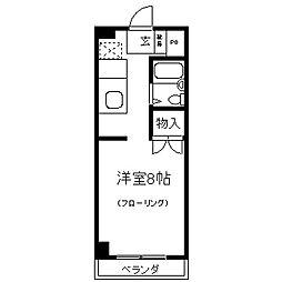 信和第二ビル[202号室]の間取り