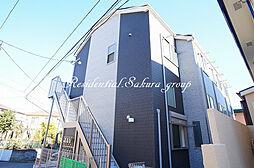 神奈川県横浜市港南区港南6の賃貸アパートの外観