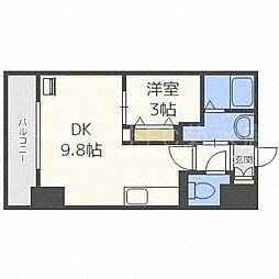 北海道札幌市白石区東札幌五条3丁目の賃貸マンションの間取り