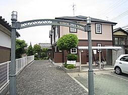 大阪府高槻市大塚町3丁目の賃貸アパートの外観