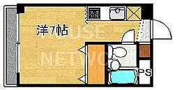 松風マンション[4-A号室号室]の間取り