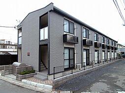 埼玉県さいたま市桜区下大久保の賃貸アパートの外観
