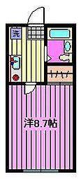 新田第一ビル[4階]の間取り