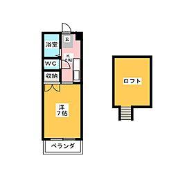 マンションジョア[2階]の間取り
