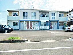 岡山県赤磐市桜が丘東2丁目の賃貸アパートの外観