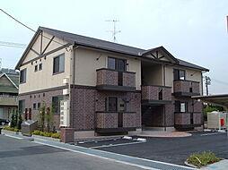 広島県福山市東深津町3丁目の賃貸アパートの外観