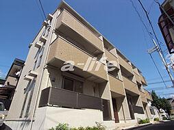 兵庫県神戸市灘区千旦通3丁目の賃貸アパートの外観