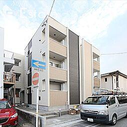 愛知県名古屋市緑区鳴海町字京田の賃貸アパートの外観