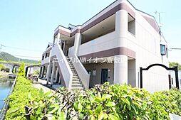 岡山県倉敷市生坂の賃貸マンションの外観