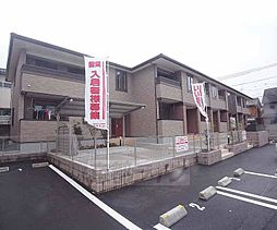 京都府京都市左京区修学院茶屋ノ前町の賃貸アパートの外観