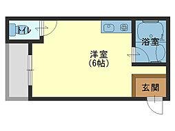 ビクトリーマンション雅[5階]の間取り