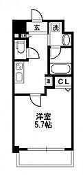 グレイスレジデンス大阪WEST[7階]の間取り