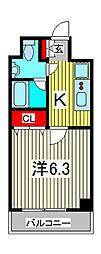SS.Advance西川口[8階]の間取り
