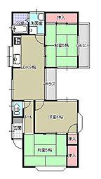 松尾コーポ[201号室]の間取り