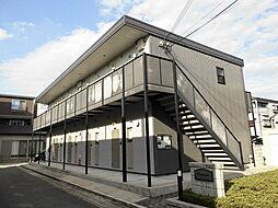京都府京都市伏見区向島庚申町の賃貸アパートの外観