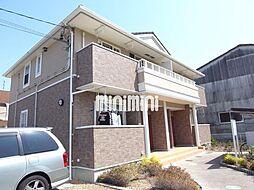 愛知県名古屋市緑区大高町字追風丁目の賃貸アパートの外観