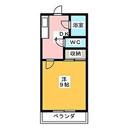 ワイズフラッツNC[5階]の間取り