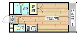 メゾンリヴェールII[4階]の間取り