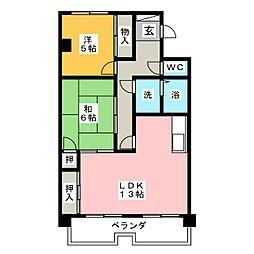 イングA[2階]の間取り