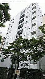東京都新宿区西早稲田の賃貸マンションの外観