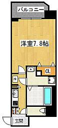 エイペックス大阪城西[9階]の間取り