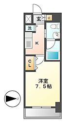 レジディア丸の内[3階]の間取り
