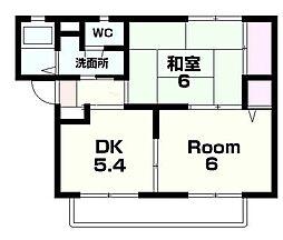 シーズ4[2階]の間取り