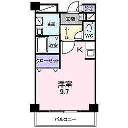 エレガント[2階]の間取り