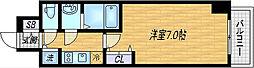 プレサンス梅田東ベータ[3階]の間取り