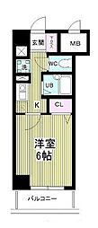 芝コーポ3号館[516号室]の間取り