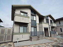 静岡県浜松市東区半田山1の賃貸アパートの外観