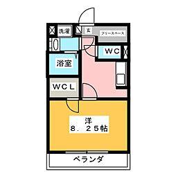 Legia da mako[3階]の間取り