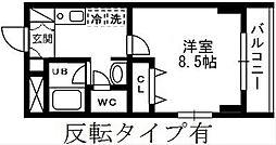神奈川県藤沢市円行2丁目の賃貸マンションの間取り