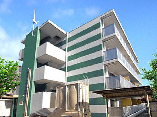 レオパレスストレーザ椿森[2階]の外観