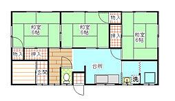 [一戸建] 茨城県日立市桜川町4丁目 の賃貸【/】の間取り