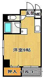 マリーナタカケンビルNo.5[4階]の間取り