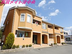 三重県津市神納町の賃貸アパートの外観