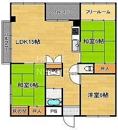 レジデンス浄土寺[501号室号室]の間取り