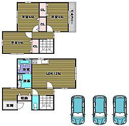 [一戸建] 大阪府河内長野市天野町 の賃貸【/】の間取り