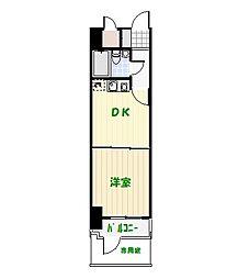 ライオンズマンション亀有第5[106号室]の間取り