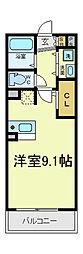 [タウンハウス] 大阪府大阪市東住吉区杭全1丁目 の賃貸【/】の間取り