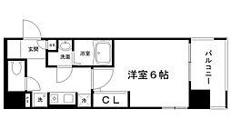 ロイヤル神戸三宮[301号室]の間取り