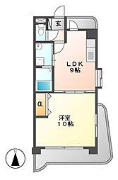 第3平安ビル[7階]の間取り